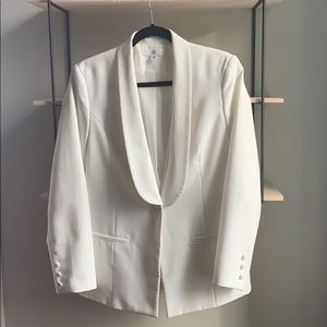 Missguided Jackets & Coats - White Missguided blazer size 8